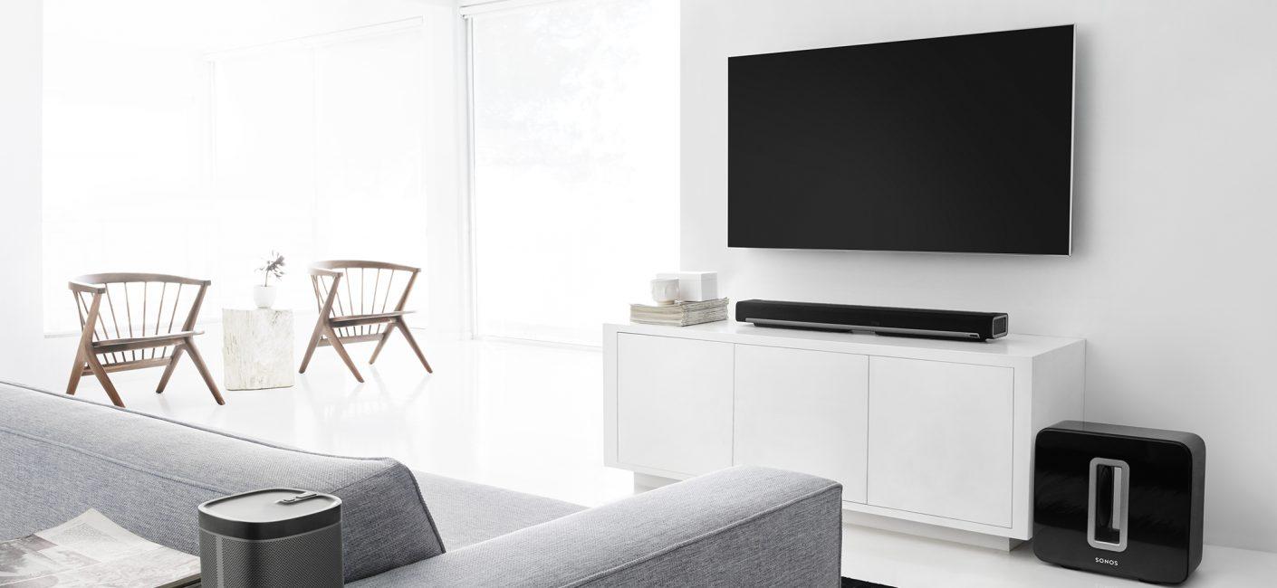 Meuble Tv Avec Barre De Son quelques stratégies pour connecter des hauts-parleurs stéréo
