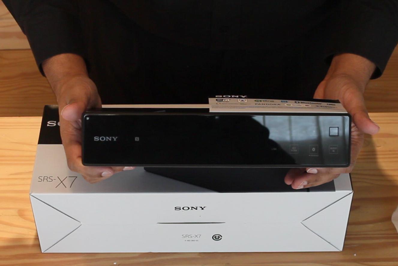 Sony SRS X7 box