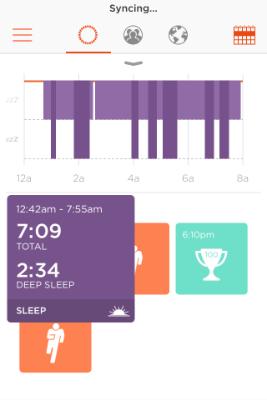 misfit shine sleep tracker