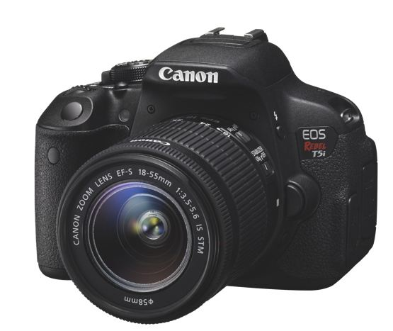Canon t5i DSLR camera.JPG