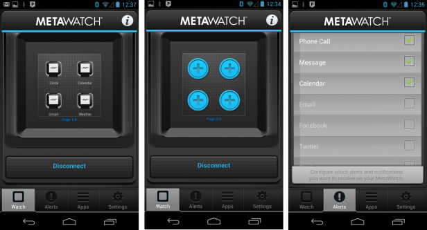 Metawatch app
