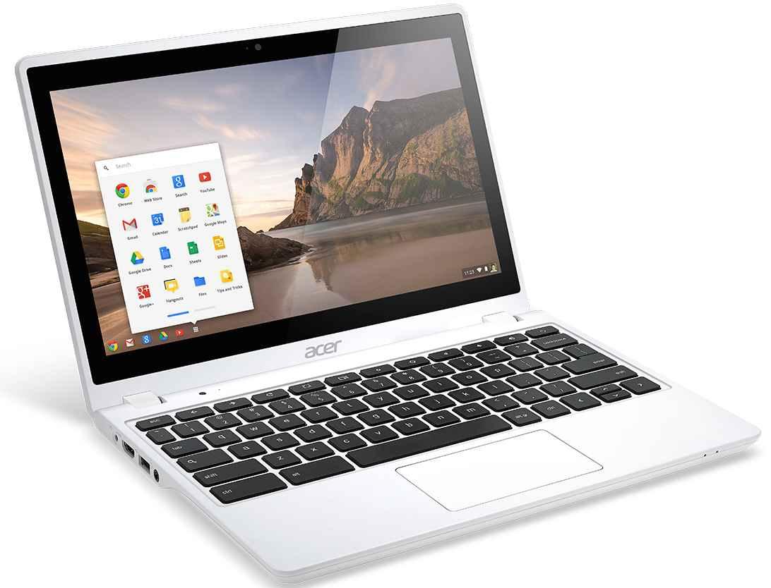 Acer Chromebook.