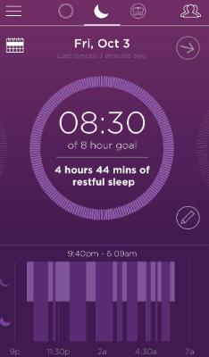 misfit sleep tracker