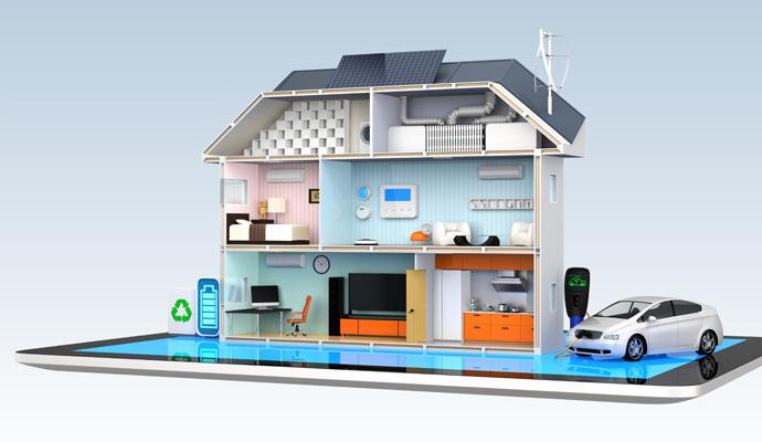 Un vent de fra cheur dans la maison gr ce la domotique for Achat de maison sans mise de fond