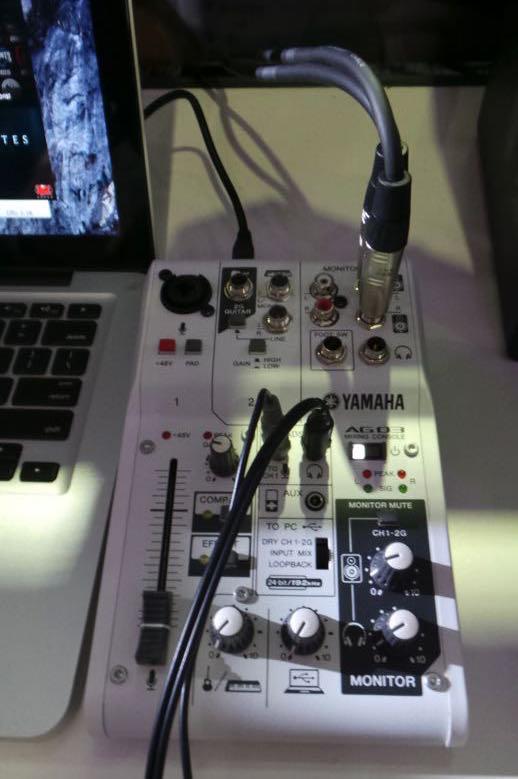 Yamaha AG mixers