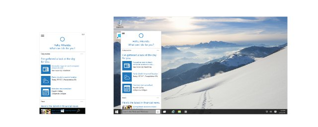 Cortana sous Windows 10