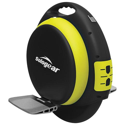 Monocycle électrique 500 W à équilibrage auto. avec haut-parleur Bluetooth Sologear.jpg