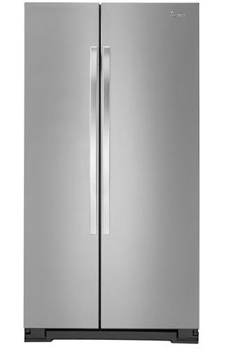 le réfrigérateur à congélateur juxtaposé 21 pi3 et 33 po en acier inoxydable.jpg