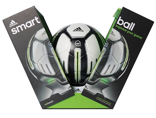 Ballon de soccer intelligent miCoach d'Adidas.jpg