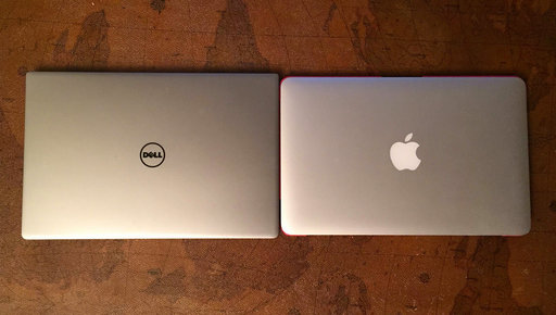 MacBook Air et Dell XPS 13.jpg