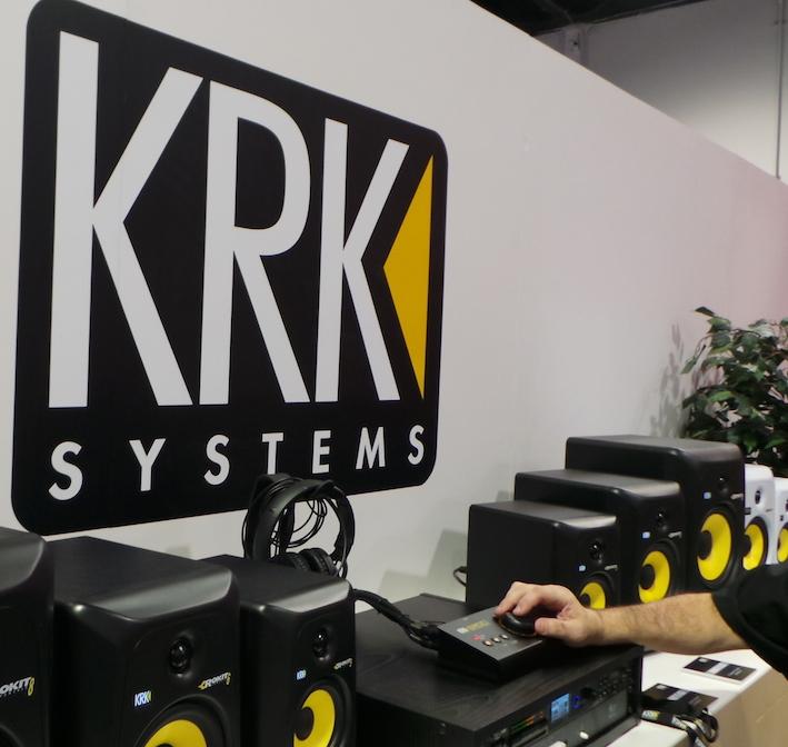 KRK monitors
