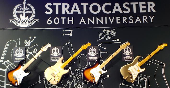 Fender Stratocaster 60e Anniversaire