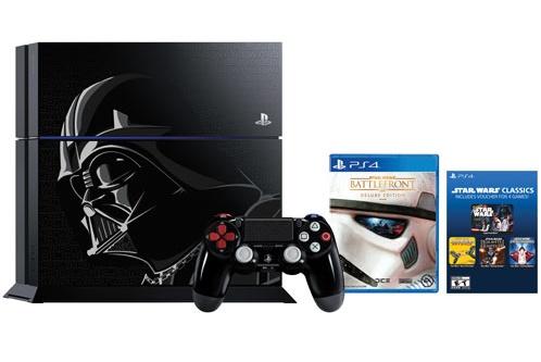 Ensemble avec console PlayStation 4 de 500 Go Star Wars Battlefront édition limitée.jpg