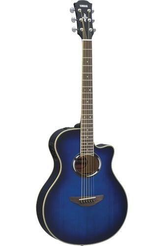 Guitare électroacoustique APX de Yamaha.jpg
