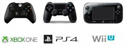 Xbox PS4 Wii U Manettes.jpg