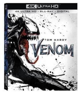 Disque Blu-ray 4K du film Venom