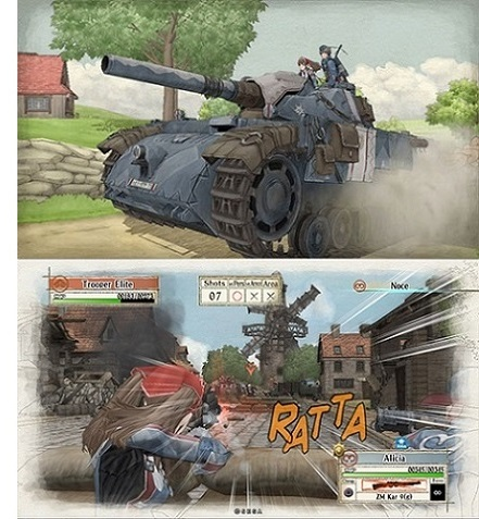 crédit images: site officiel Valkyria Chronicles