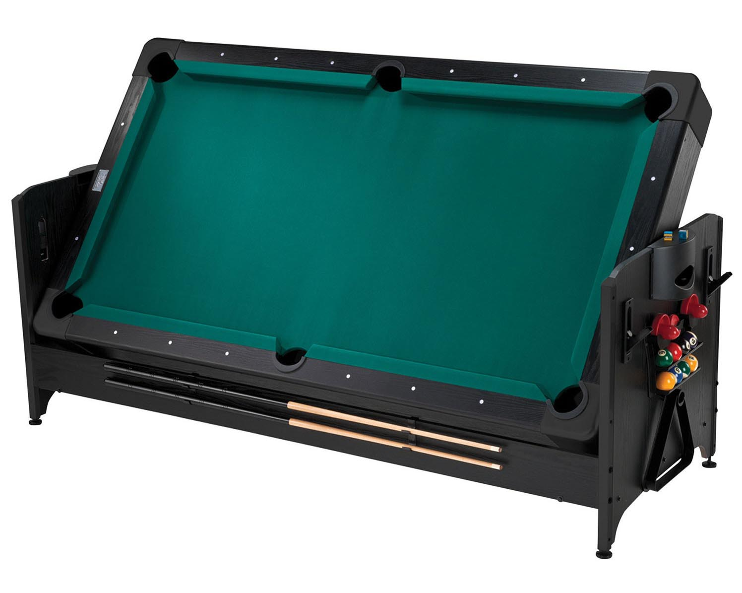 Table 3-en-1 tennis de table billard hockey sur coussin d'air de 32 po Pockey de FatCat.jpg