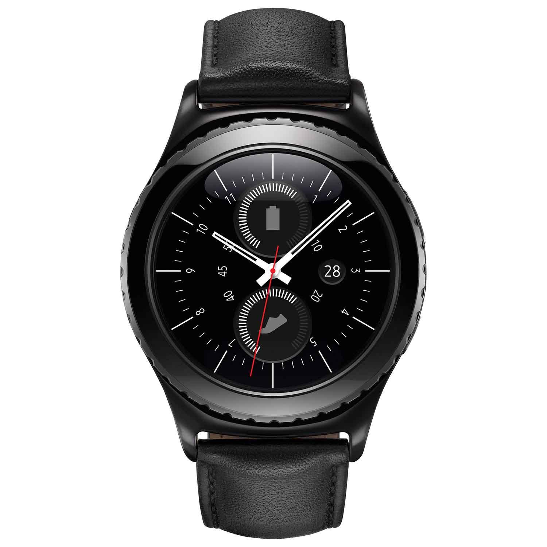 Montre intelligente Gear S2 Classic de Samsung avec moniteur de fréquence cardiaque.jpg