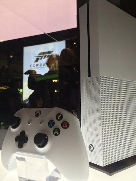 Console Xbox One S à l'E3 2016