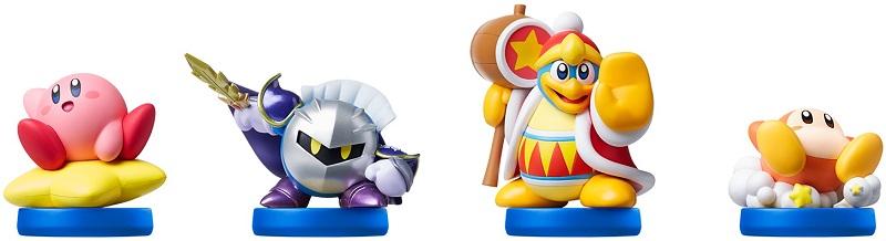 Les amiibo sortis pour le jeu Kirby: Planet Robobot