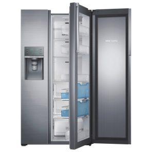 Réfrigérateur côte à côte de 35,7 po et 21,5 pi3 de Samsung