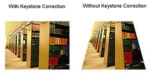 benQ keystone-effect
