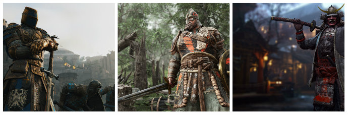 for-honor-characters