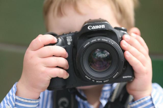 photographie à vos enfants canon