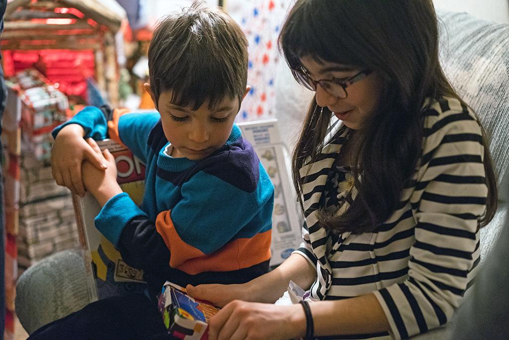 Enfants cadeaux photo