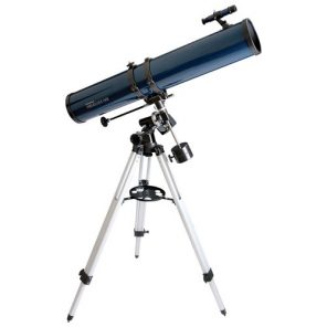Télescope 114EQ PowerSeeker de Celestron avec moteur