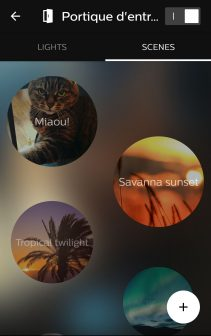 Philips Hue Screenshot Scenes 2