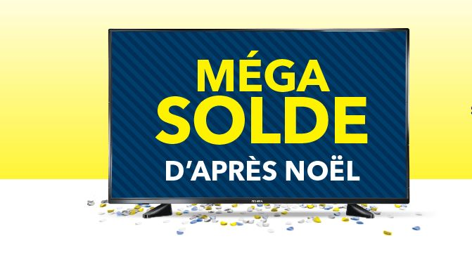 Best Buy mega solde apres noel