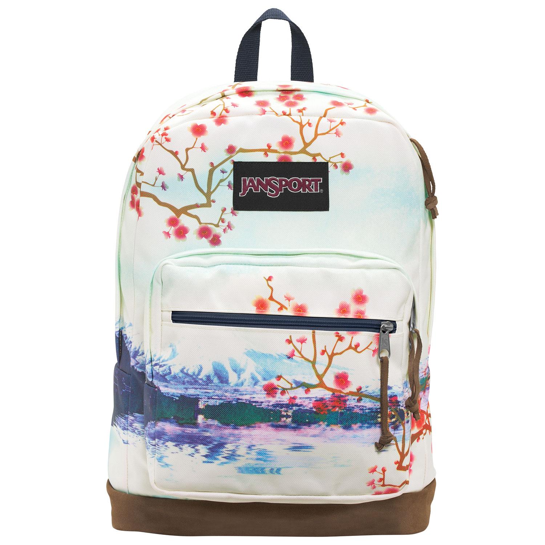 Sac pour portable Jansport cerisiers en fleurs