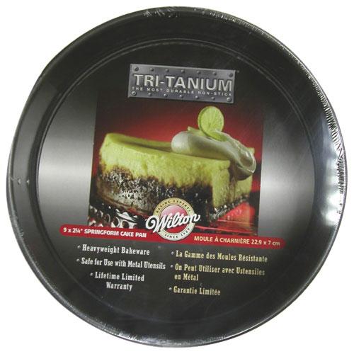 Moule à charnière antiadhésif de 9 po Tri-Tanium de Wilton