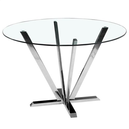table moderne en verre