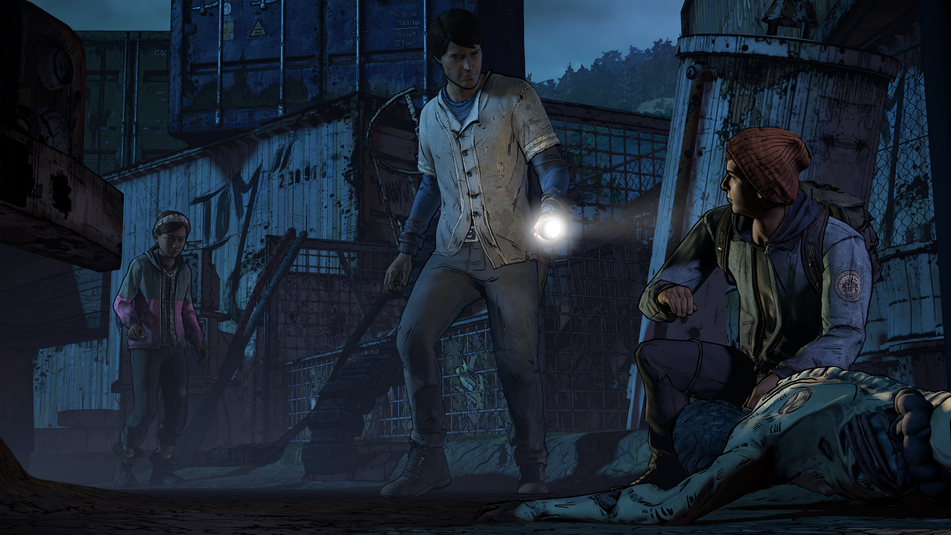 Walking Dead New Frontier