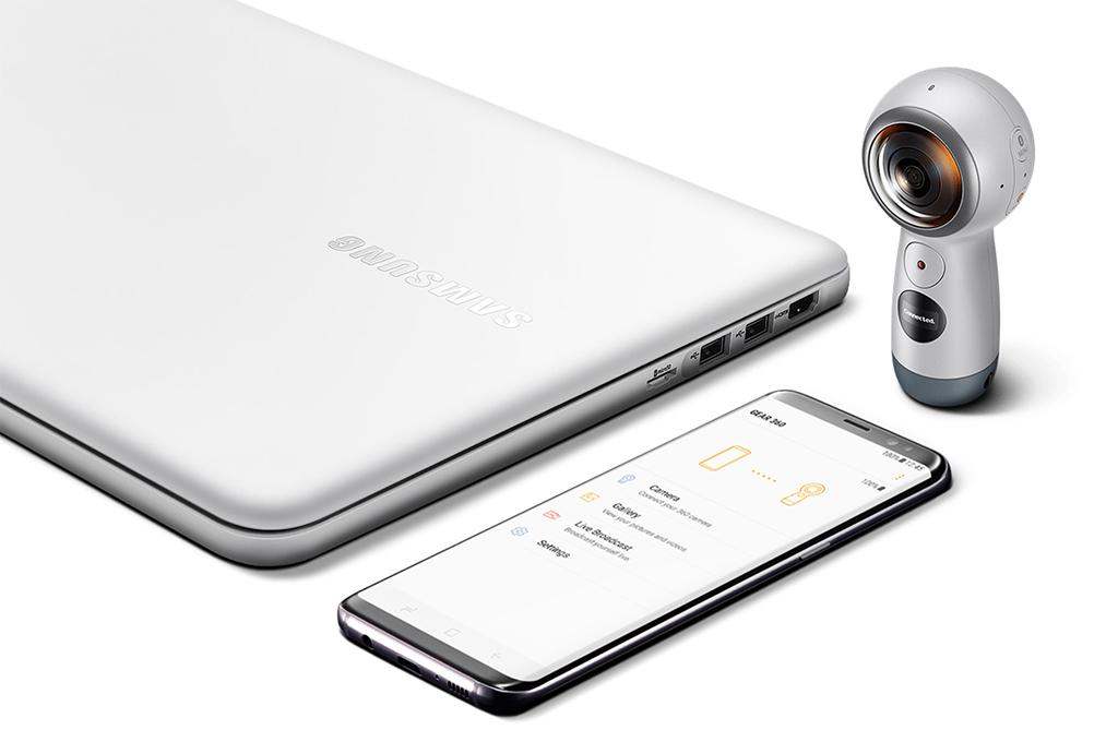 caméra à 360 degrés Gear 360 de Samsung