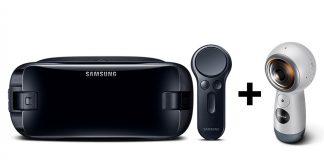 Samsung Gear VR et Gear 360