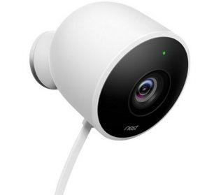 Caméra de surveillance extérieure Nest Cam