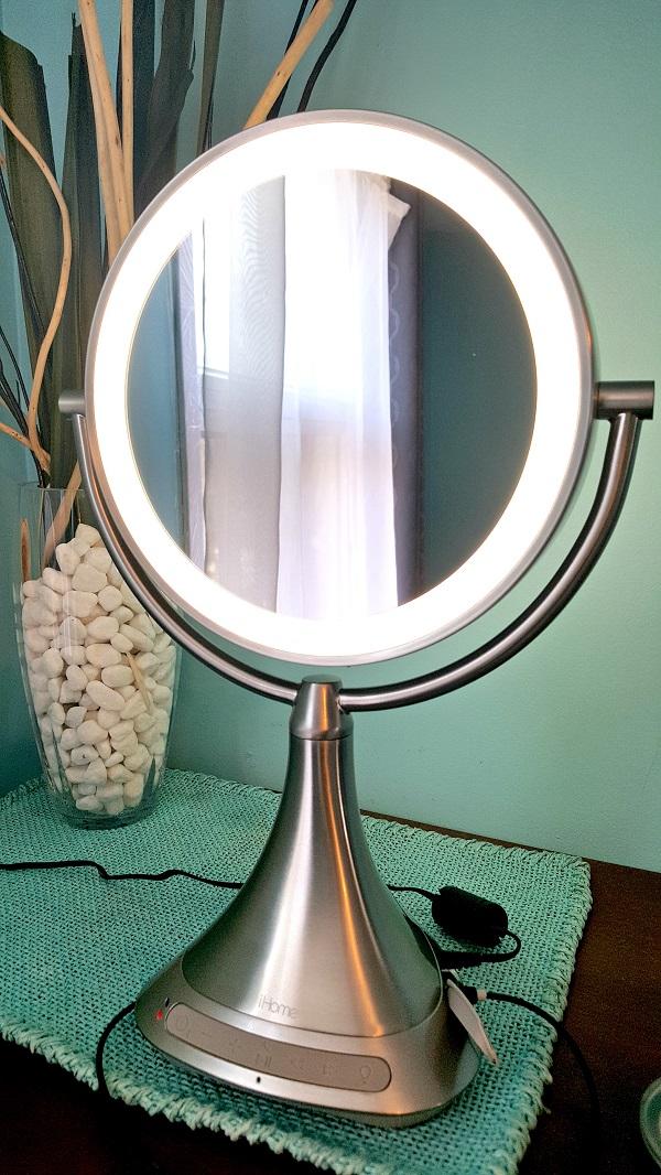 Essais miroir ihome vanity haut parleur del blogue best buy for Miroir best buy