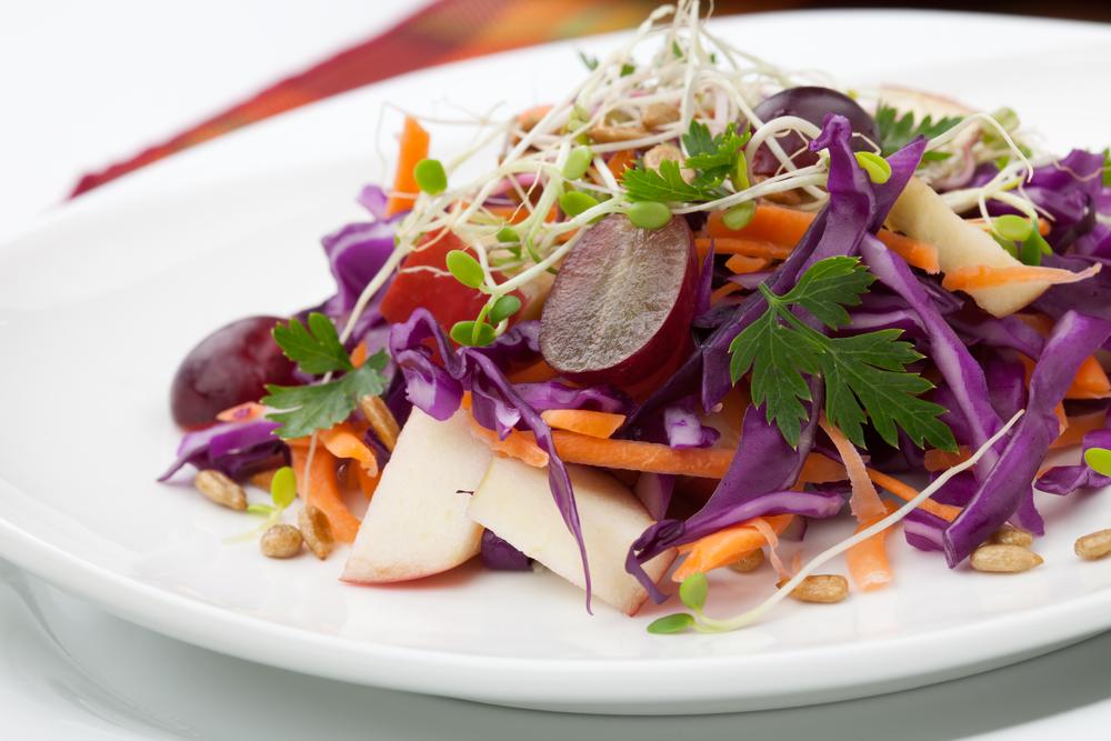 Salade d'endives et de pommes croquantes