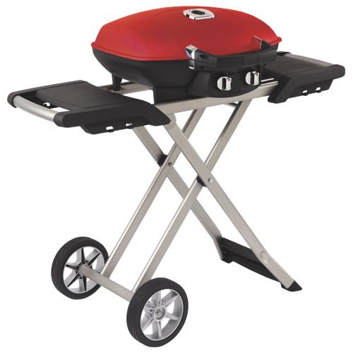 Barbecue portatif au gaz 12 000 BTU avec chariot à ciseaux TravelQ de Napoleon