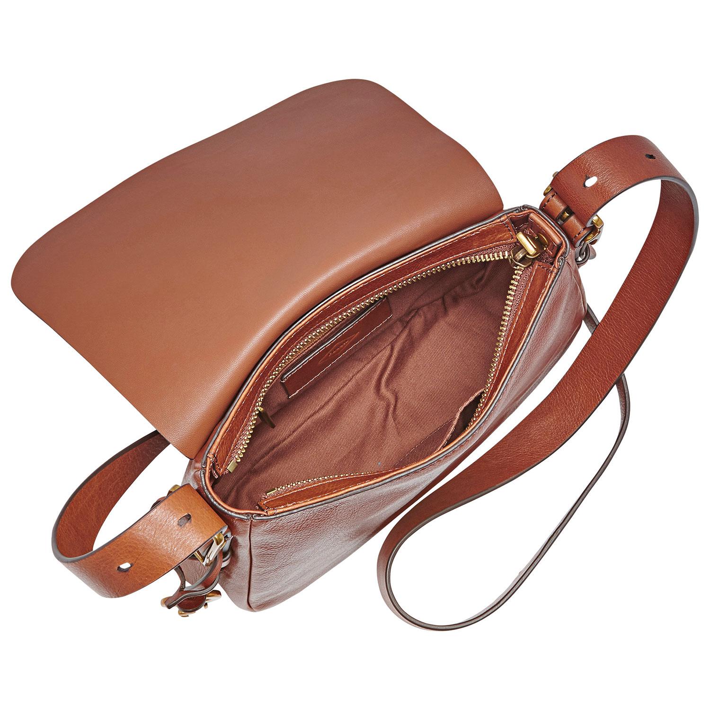sac à bandoulière en cuir Harper de Fossil