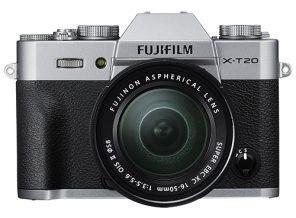appareil photo Fujifilm X-T20 pour photographier le ciel de nuit
