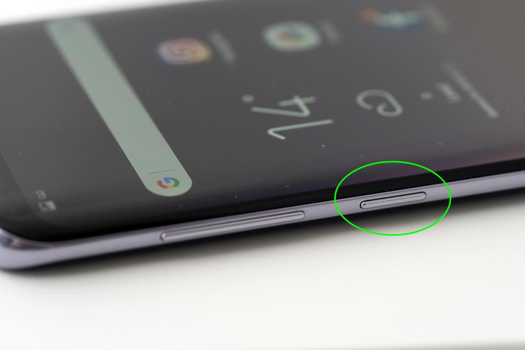 Samsung Galaxy S8 bouton Bixby