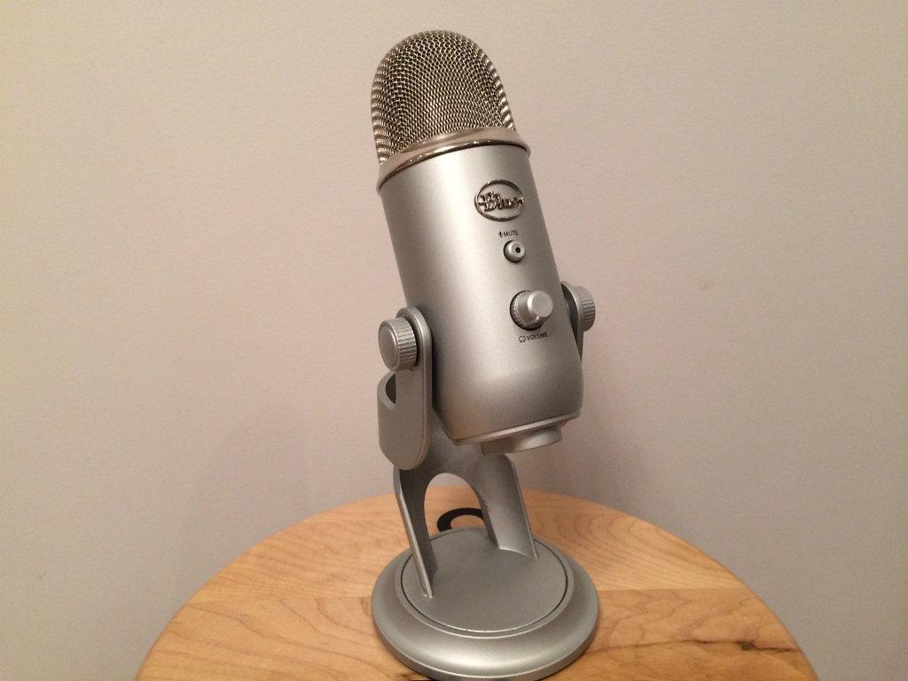 microphone Yeti de Blue