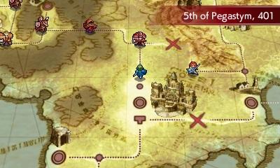 Fire Emblem Echoes carte