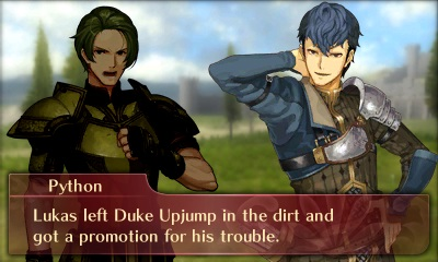 Fire Emblem Echoes dialogue