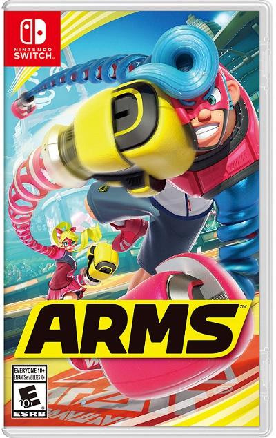 ARMS pochette